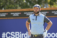 Andy Sullivan (ENG) on the 8th tee during Saturday's Round 3 of the 2018 Omega European Masters, held at the Golf Club Crans-Sur-Sierre, Crans Montana, Switzerland. 8th September 2018.<br /> Picture: Eoin Clarke | Golffile<br /> <br /> <br /> All photos usage must carry mandatory copyright credit (&copy; Golffile | Eoin Clarke)