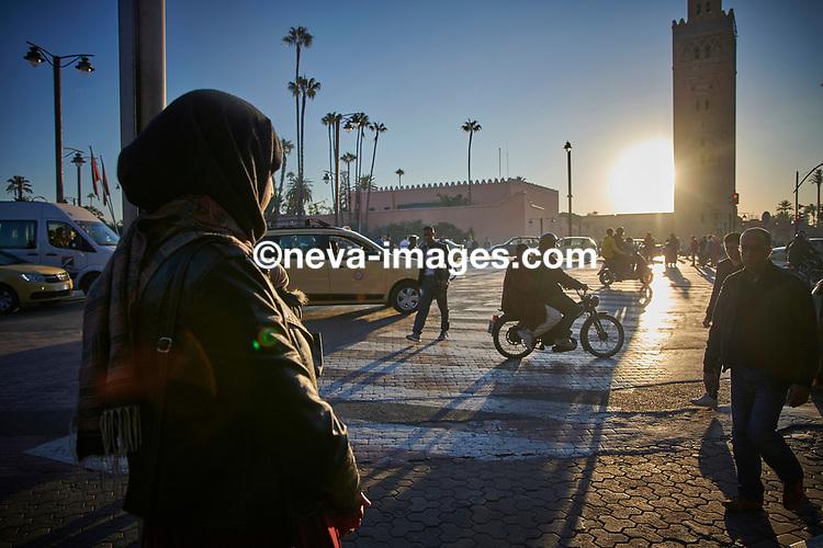 Rabat, Marrakech, du 9 au 12 janvier 2019, djhadiste Genevois arrêté, ici son épouse depuis février 2016, Fatima nous raconte son mari © sedrik nemeth