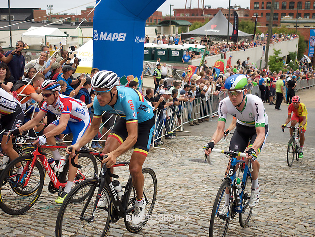 The 2015 UCI World Road Championship Men's Elite Road Race in Richmond, VA on September 27, 2015.