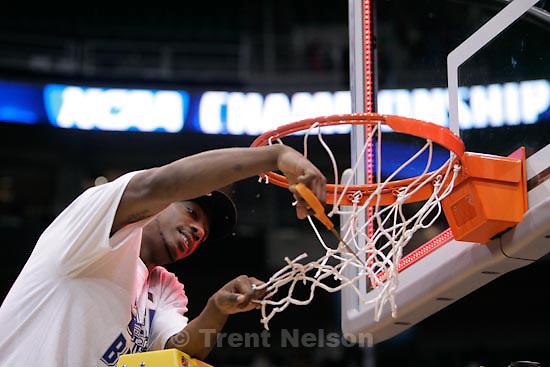 Trent Nelson  |  The Salt Lake Tribune.Salt Lake City - Butler vs. Kansas State, NCAA West Regional (Final Eight), Saturday, March 27, 2010.