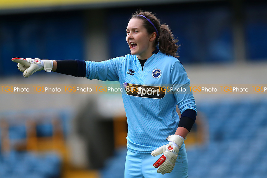Sarah Quantrill of Millwall during Millwall Lionesses vs Sheffield FC Ladies, FA Women's Super League FA WSL2 Football at The Den on 9th October 2016
