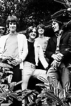 The Kinks 1968 Ray Davies,Dave Davies, Pete Quaife and Mick Avory.