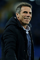 Ex Chelsea and Italian International, Gianfranco Zola during Chelsea vs West Bromwich Albion, Premier League Football at Stamford Bridge on 12th February 2018