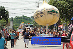 A view of the Saugerties July 4th Parade on Partition Street in Saugerties, NY on Monday, July 4, 2011. Photo by Jim Peppler. Copyright © Jim Peppler 2011.