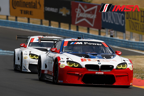 1-3 July, 2016, Watkins Glen, New York, USA<br /> , 25, BMW, F13 M6, GTLM, Bill Auberlen, Dirk Werner, 100, BMW, F13 M6, GTLM, Lucas Luhr, John Edwards<br /> &copy;2016, Michael L. Levitt<br /> LAT Photo USA