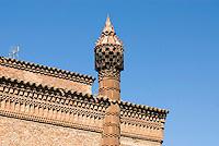 Spanien, Barcelona, Ca L'Ordal in der Colonia Güell von Antoni Gaudi