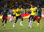 Colombia  vencio a Camerun 3x0 partido amistoso rumbo a Brasil 2014  Carlos Baca en ataque