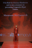 www.acepixs.com<br /> February 9, 2017  New York City<br /> <br /> Maureen McCormick walks the runway at the American Heart Association's Go Red For Women Red Dress Collection 2017 presented by Macy's at Fashion Week at Hammerstein Ballroom on February 9, 2017 in New York City.<br /> <br /> Credit: Kristin Callahan/ACE Pictures<br /> <br /> <br /> Tel: 646 769 0430<br /> Email: info@acepixs.com