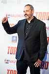 """Alfonso Albacete attends to the premiere of the spanish film """"Toro"""" at Kinepolis Cinemas in Madrid. April 20, 2016. (ALTERPHOTOS/Borja B.Hojas)"""