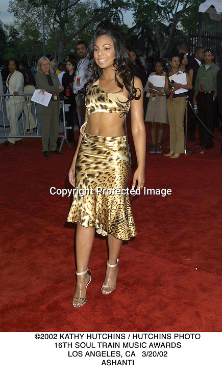 ©2002 KATHY HUTCHINS / HUTCHINS PHOTO.16TH SOUL TRAIN MUSIC AWARDS.LOS ANGELES, CA   3/20/02.ASHANTI