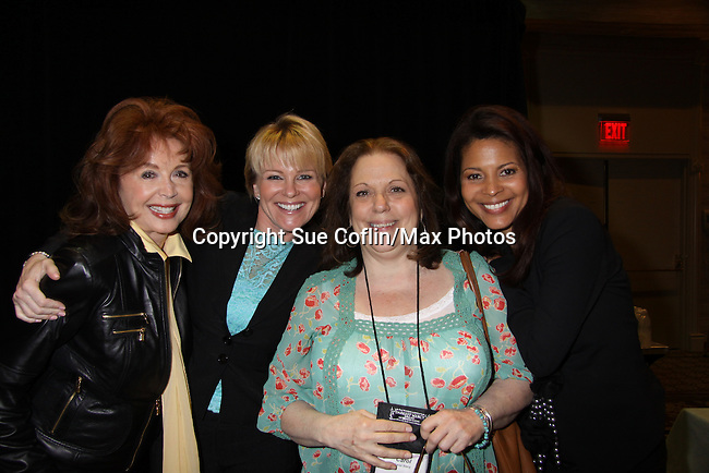 Suzanne Rogers, Judi Evans, Carol Stacy, Renee Jones at Romantic Times Booklovers Annual Convention 2011 - The Book Industry Event of the Year - April 9, 2011 at the Westin Bonaventure, Los Angeles, California for readers, authors, booksellers, publishers, editors, agents and tomorrow's novelists - the aspiring writers. (Photo by Sue Coflin/Max Photos)