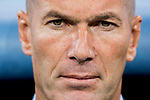 Coach Zinedine Zidane of Real Madrid prior to the Supercopa de Espana Final 2nd Leg match between Real Madrid and FC Barcelona at the Estadio Santiago Bernabeu on 16 August 2017 in Madrid, Spain. Photo by Diego Gonzalez Souto / Power Sport Images