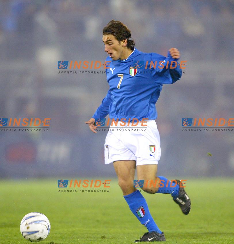 Rieti 19 Novembre 2003 Qualificazioni Campionato Europeo Under 21<br /> Italia Danimarca Under 21 0-0<br /> Andrea Gasbarroni<br /> Foto Andrea Staccioli Insidefoto