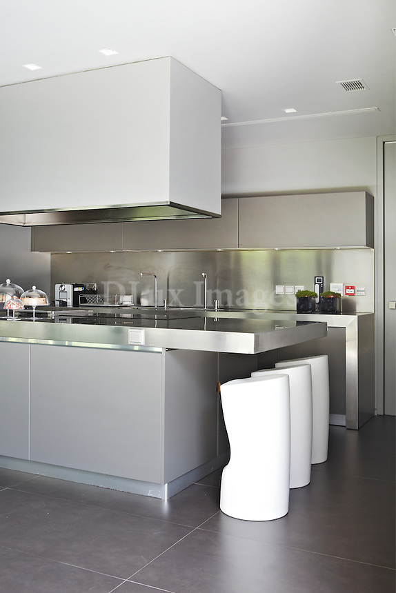 contemporary inox kitchen