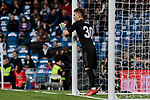 Real Madrid's Luca Zidane during La Liga match between Real Madrid and SD Huesca at Santiago Bernabeu Stadium in Madrid, Spain.March 31, 2019. (ALTERPHOTOS/A. Perez Meca)