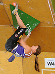 June 4, 2011 Vail, CO.  Ranked #1 in the world, Austria's Anna Stohr competes during the IFSC Climbing Worldcup at the 2011 Teva Mountain Games, Vail, CO.. ...