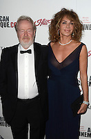 BEVERLY HILLS, CA - OCTOBER 14: Ridley Scott and Giannina Scott at the 30th Annual American Cinematheque Awards Gala at The Beverly Hilton Hotel on October 14, 2016 in Beverly Hills, California. Credit: David Edwards/MediaPunch