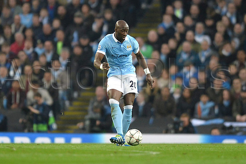 12.04.2016. manchester, England. UEFA Champions league, quarterfinals, second leg. Manchester City versus Paris St Germain.  ELIAQUIM MANGALA (man)
