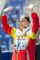 SUN Wenyan CHN<br /> Kazan Arena Synchro Sincro Solo Technical Final<br /> Day02 25/07/2015<br /> XVI FINA World Championships Aquatics Swimming<br /> Kazan Tatarstan RUS July 24 - Aug. 9 2015 <br /> Photo G.Scala/Deepbluemedia/Insidefoto