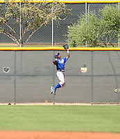 Jarrod Dyson / Kansas City Royals 2008 Instructional League..Photo by:  Bill Mitchell/Four Seam Images