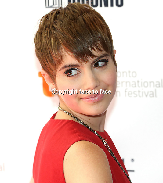 Sami Gayle attending the 2013 Tiff Film Festival Red Carpet arrivals for &quot;Hateship Loveship&quot; at Princess of Wales Theatre on September 6, 2013 in Toronto, Canada.<br />