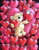 Interlitho, Arthur, VALENTINE, paintings, bear, hearts, mouse(KL4200,#V#)
