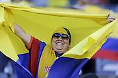 Hincha en el partido de cuartos de final entre Colombia y Per&uacute; en la Copa Am&eacute;rica Centenario USA 2016 en el MetLife Stadium en East Rutherford, California, el 17 de junio de 2016.<br /> Foto: Archivolatino<br /> <br /> COPYRIGHT: Archivolatino/Alejandro Sanchez<br /> Prohibida su venta y su uso comercial.