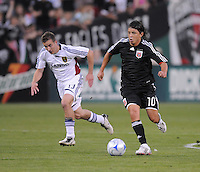 DC United midfielder Marcelo Gallardo (10). DC United defeated Real Salt Lake 4-1, at RFK Stadium in Washington DC, Saturday April 26, 2008.
