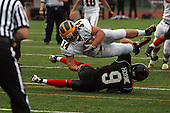 Clarkston at Troy, varsity football, 9/16/11