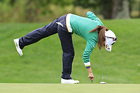 Ai Miyazato (JPN) playing her final tournament of her career   on the 7th green during Wednesday's Pro-Am Day of The Evian Championship 2017, the final Major of the ladies season, held at Evian Resort Golf Club, Evian-les-Bains, France. 13th September 2017.<br /> Picture: Eoin Clarke | Golffile<br /> <br /> <br /> All photos usage must carry mandatory copyright credit (&copy; Golffile | Eoin Clarke)