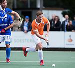 UTRECHT - Roel Bovendeert (Bldaal) met links Martijn Havenga (Kampong)  tijdens de hockey hoofdklasse competitiewedstrijd heren:  Kampong-Bloemendaal (3-3).   COPYRIGHT KOEN SUYK