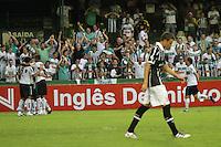 CURITIBA, PR, 25 DE JANEIRO 2011 – CORITIBA X CORINTHIANS-PR – Jogadores do Coritiba (e) comemoram o gol de Lincoln contra o Corinthians-PR na partida válida pela segunda rodada do Campeonato Paranaense 2012. O jogo aconteceu na noite de quarta-feira (25), no Estádio Couto Pereira, em Curitiba. <br />  (FOTO: ROBERTO DZIURA JR./ NEWS FREE)