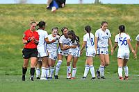 Commerce City, CO - Sunday April 28, 2019: U.S. Soccer Development Academy U-15 Girls Spring Showcase match between San Jose Earthquakes vs Cincinnati Development Academy at Dick's Sporting Goods Park.