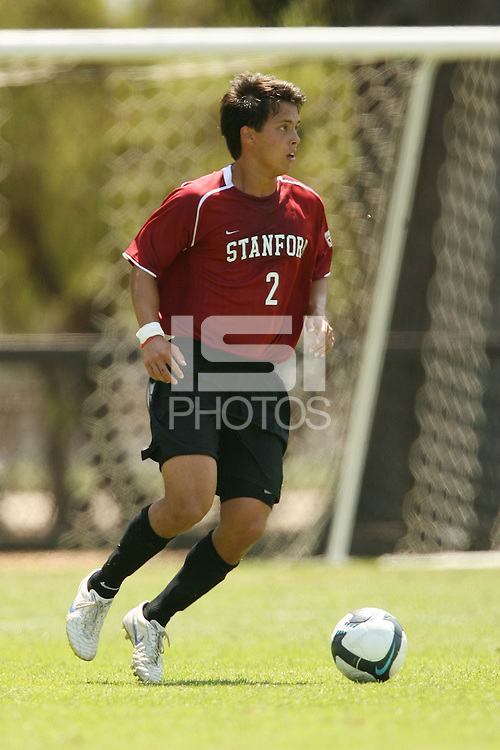 STANFORD, CA - AUGUST 20:  Clayton Holz of the Stanford Cardinal during Stanford's 0-0 tie with Sonoma State on August 20, 2009 in Stanford, California.