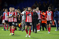 Lincoln players applaud their fans after Ipswich Town vs Lincoln City, Emirates FA Cup Football at Portman Road on 9th November 2019