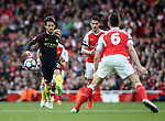 Manchester City's David Silva in action during the Premier League match at the Emirates Stadium, London. Picture date: April 2nd, 2017. Pic credit should read: David Klein/Sportimage