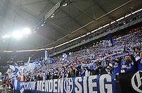 FUSSBALL   EUROPA LEAGUE   SAISON 2011/2012  ACHTELFINALE FC Schalke 04 - Twente Enschede                         15.03.2012 Nordkurve FC Schalke 04