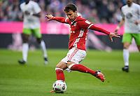 Fussball  1. Bundesliga  Saison 2016/2017  14. Spieltag  FC Bayern Muenchen - VfL Wolfsburg    10.12.2016 Juan Bernat (FC Bayern Muenchen) am Ball