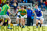 Conor O'Shea South Kerry in action against Cian Sayers Kerins O'Rahillys in the Kerry Senior Football Championship Semi Final at Fitzgerald Stadium on Saturday.