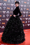 Paz Vega attends to the Red Carpet of the Goya Awards 2017 at Madrid Marriott Auditorium Hotel in Madrid, Spain. February 04, 2017. (ALTERPHOTOS/BorjaB.Hojas)