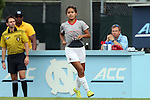 21 August 2015: Fresno State's Alyssa Nishikawa. The Duke University Blue Devils played the Fresno State Bulldogs at Fetzer Field in Chapel Hill, NC in a 2015 NCAA Division I Women's Soccer game. Duke won the game 5-0.