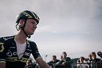 Jack Haig (AUS/ORICA-Scott) post-finish<br /> <br /> Il Lombardia 2017<br /> Bergamo to Como (ITA) 247km