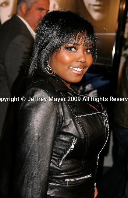 "UNIVERSAL CITY, CA. - March 12: Shar Jackson arrives at the Los Angeles premiere of ""Fast & Furious"" at the Gibson Amphitheatre on March 12, 2009 in Universal City, California."