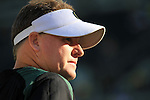 10/02/10-- Oregon head coach Chip Kelly..Photo by Jaime Valdez....