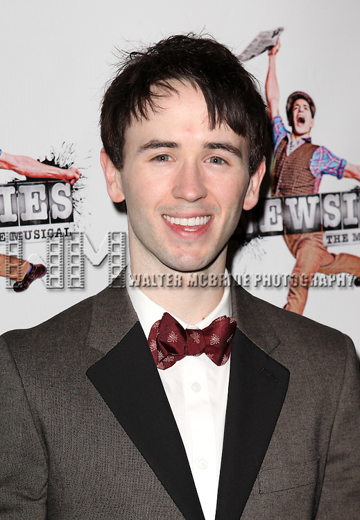 Garett Hawe.attending the 'NEWSIES' Opening Night after Party at the Nederlander Theatre in New York on 3/29/2012