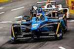 Sebastien Buemi of Renault E.Dams team during the first race of the FIA Formula E Championship 2016-17 season HKT Hong Kong ePrix at the Central Harbourfront Circuit on 9 October 2016, in Hong Kong, China. Photo by Victor Fraile / Power Sport Images