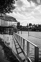 Henley On Thames. Oxfordshire/ Berkshire. United Kingdom. 26/17.05.2017. General View, Floating Grandstand River Thames. <br /> <br /> <br /> [Mandatory Credit Peter SPURRIER/Intersport Images]