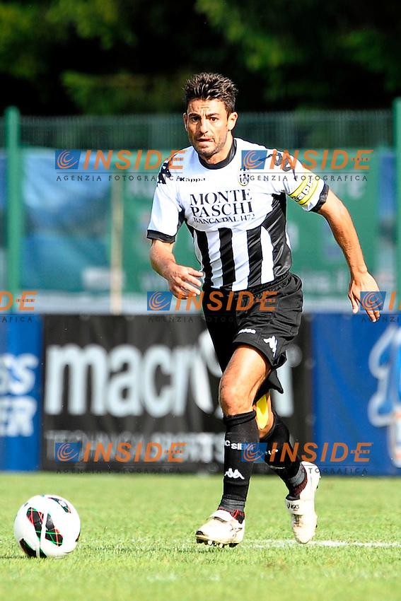 Simone Vergassola Siena.Auronzo di Cadore 25/7/2012.Football Calcio 2012 / 2013 .Amichevole Friendly Match.SS Lazio Vs AC Siena.Foto Insidefoto