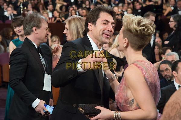 Javier Bardem and Scarlett Johansson attend The 89th Oscars&reg; at the Dolby&reg; Theatre in Hollywood, CA on Sunday, February 26, 2017.<br /> *Editorial Use Only*<br /> CAP/PLF/AMPAS<br /> Supplied by Capital Pictures