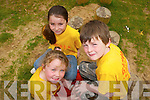 FUN: Taking part in the Summer Camp in Banna this week were: Ada O'Connor and Caoimhe Murphy and Christian Keane..